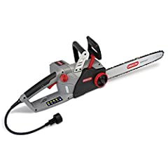 """Includes 18"""" guide bar and PowerSharp chain, which minimizes downtime by allowing you to sharpen your chain right on the saw in 3 seconds or less. Get to work right away with the instant start capability The chain stays oiled using the built-in Lubri..."""