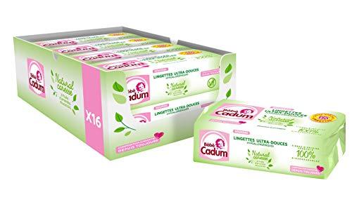 Cadum Bébélingettes Natural Caresse960 Wipes (8 Lotes De 120)
