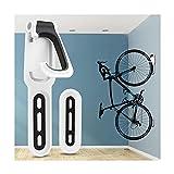 Soporte para bicicletas para garaje, montaje en pared para bicicletas, almacenamiento interior vertical, fácil instalación, soporte para bicicletas, ganchos para bicicletas para colgar bicicletas