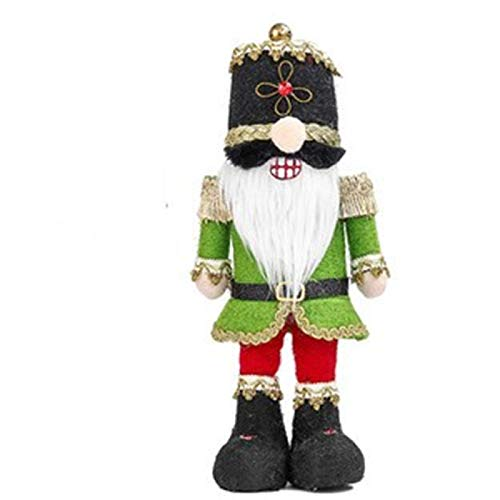 xffg Felpa cascanueces Soldado Decoraciones 2021 Da de San Patricio y Pascua Muecas de pie lindas decoraciones del sitio