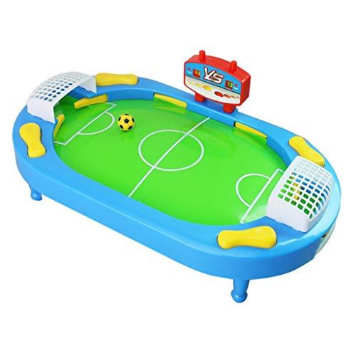 ZXQZ Tischfußball-Tisch, Familien-Spaß-Spielzeug, Mini-Fußball, Tischspiel für Kinder-Party, Weihnachtsgeschenk, Arcade-Tischspiele