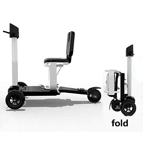CCLLA 2020 Scooter Eléctrico Plegable Compacto Bicicleta Eléctrica Ultraligera para Adultos En...