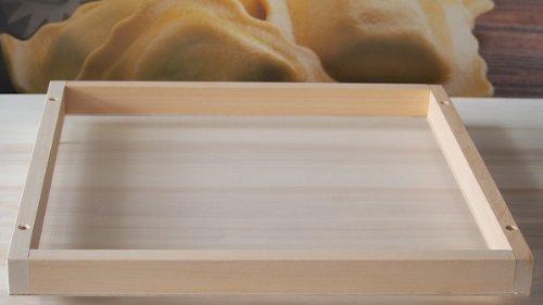 Seca pasta rellenas cuadrado, 48x48 cm. Art. D/CP02
