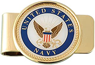 USN (Navy) Money Clip, Card Holder