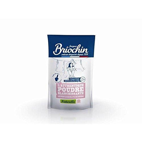 Briochin l'Authentique Poudre Blanchissante percabonate de soude écocert 500g Plus Rapidement et soignée (Prix à l'unité)