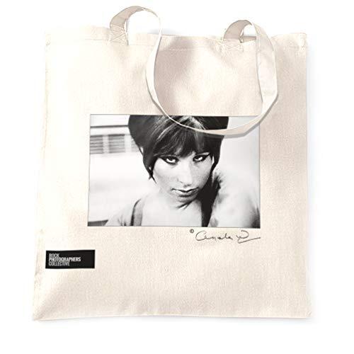 Barbra Streisand Rock Stofftaschen - Weiß/One Size