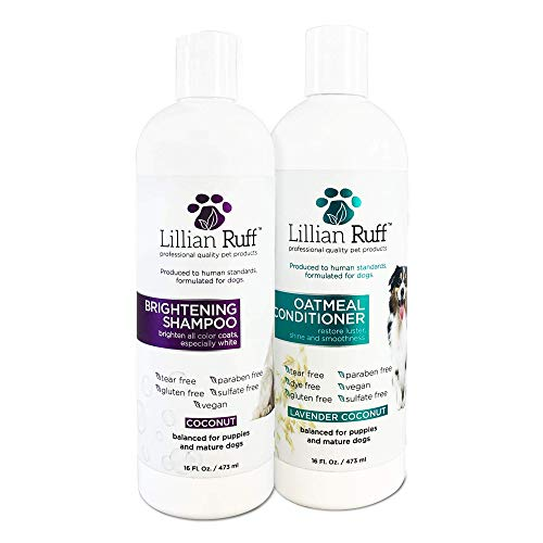 Lillian Ruff Dog Shampoo Conditioner Set
