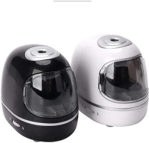 HLSH Sacapuntas eléctrico con Dos Modos de Fuente de alimentación con contenedor,...
