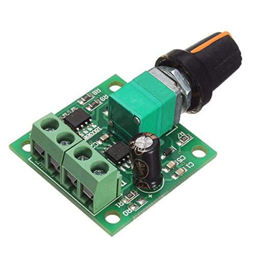 HYY-YY DC 1.8V 3V 5V 6V 12V 2A PWM Controlador de velocidad de motor 0~100% ajustable módulo de accionamiento 1803B Spot Steuermodul