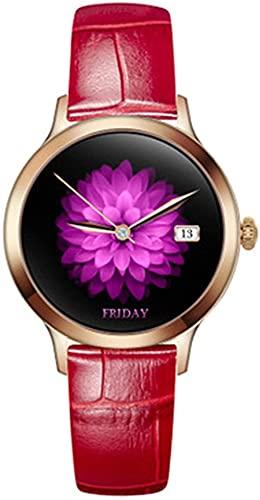 Reloj G10 para mujer con podómetro de ejercicio y ciclo menstrual recordatorio de mensaje reloj inteligente-B