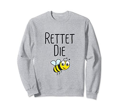 Rettet die Bienen - Umweltschutz Biene Imker Sweatshirt