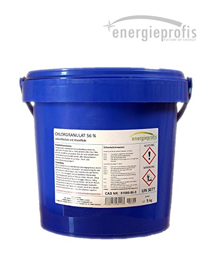 energieprofis 5 kg (1 x 5 kg) Chlor Granulat Chlorgranulat