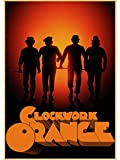 MOMEI Leinwand Poster Klassiker A Clockwork Orange Anthony