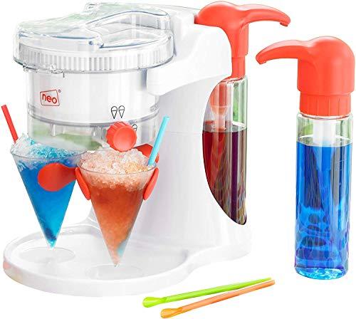 Neo - Máquina eléctrica para hacer granizados, bebidas con hielo, copas con forma de cono