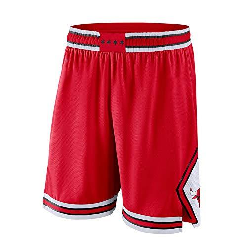 # 23 Bulls Michael Jordan Classic Basketball Jersey, Camiseta de hombre, Ventiladores Deportes al aire libre, Casual Transpirable Malla Sudadera y Pantalones Cortos Rojo C-M