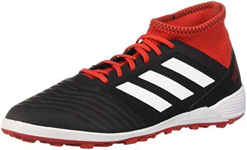 adidas Originals Predator Tango 18.3 Tf Scarpe da Calcio da Uomo, Nero (Nero, Bianco, Rosso Solare.), 45.5 EU