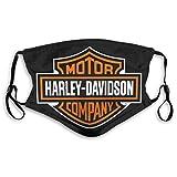 Copertura per il viso Harley-Davidsons Foulard per la bocca all'aperto riutilizzabile sciarpa decorazione del viso
