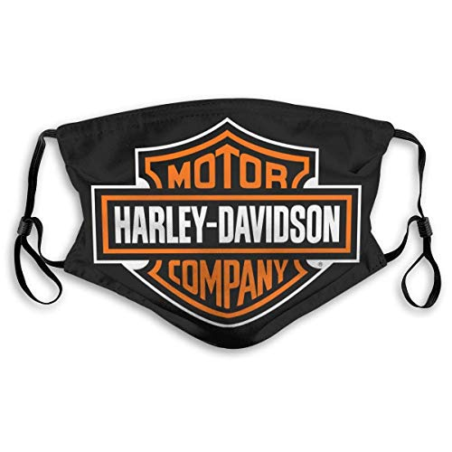 Mundschutz Face Cover Mouth Cover Harley-Davidsons Mouth Headscarf Outdoor Reusable Scarf Face Decorations