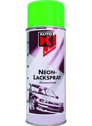 Auto-K Neon Lackspray Lack Spray grün 400 ml