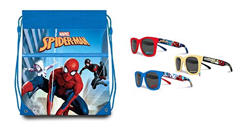 Marvel Borsa Spiderman - Occhiali da Sole Spiderman