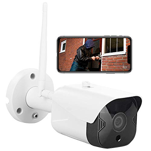 7links Outdoor Kamera: Outdoor-WLAN-IP-Überwachungskamera mit Full HD, Nachtsicht, App, IP44 (Überwachungskameras aussen)