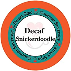 Smart Sips, Decaf Snickerdoodle Cookie Gourmet Coffee, 24 Count for Keurig K-cup Brewers
