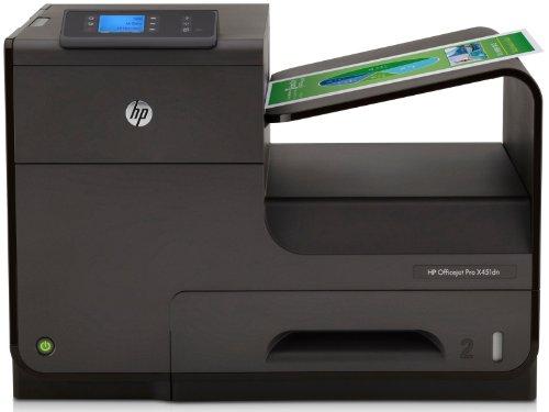 HP Officejet Pro X451dw ePrint Tintenstrahldrucker (A4, Drucker, Dokumentenecht, Wlan, USB, 1200x1200) CN463A#A81