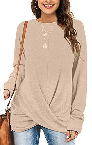 Tunic Tops For Leggings For Women Long Sleeve Shirts For Women Dressy L