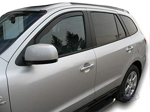 Lfldmj New ABS Chrome Door Handle Cover Cup Bowl trim Car Styling Overlay,For Hyundai Santa Fe 2007 2008 2009 2010 2011 2012