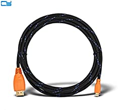 Computer Cables HDMI to Micro HDMI D Type Cable 1.5m / 3m / 5m 1.4V 3D 1080P Ethernet for Onda oBook 10 / V820w V975S Lenovo yoga700 2 3 pro - (Cable Length: 1.5m)