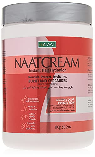 Nunaat Naat Hair Cream, Buriti and Ceramides, 35.2 Ounce by nunaat