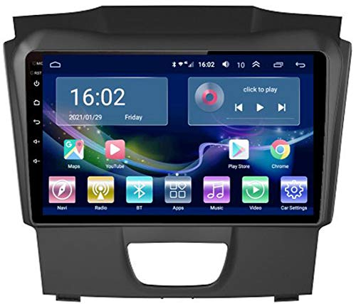 Android 9.0 Car Stereo Double DIN Head Unit para Isuzu Dmax S10 2015-2018 Navegación GPS Pantalla táctil de 9 Pulgadas Reproductor Multimedia MP5 Receptor de Video y Radio con 4G Wifi,4g+wifi 2g+32g