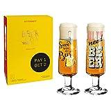 Ritzenhoff 6061001 Juego de Vasos de Cerveza, Vidrio