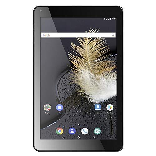 Odys Titan 10 LTE, schwarz, 10Zoll, HD IPS 800x1280, Quad Core Prozessor, 2 GB RAM, 16 GB Flash, GPS, Android 8.1, Dual SIM LTE, Aluminiumgehäuse, 2,4 u. 5GHz WLAN