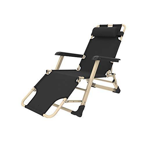 YQQ-Chaise pliante Ménage Fauteuil De Repos Chaise De Plage Chaise De Pause Déjeuner Chaise Longue 178 * 66 * 98CM