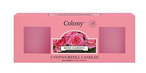 Kolonie BX/3Refills Rose Garden, Pink