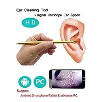 ライブ画像HD耳鏡Endoscopiカメラ口腔、耳、鼻の検査用の生態学的なPVCデジタルボアスコープ。 (サポートコンピューター/Android Phone)