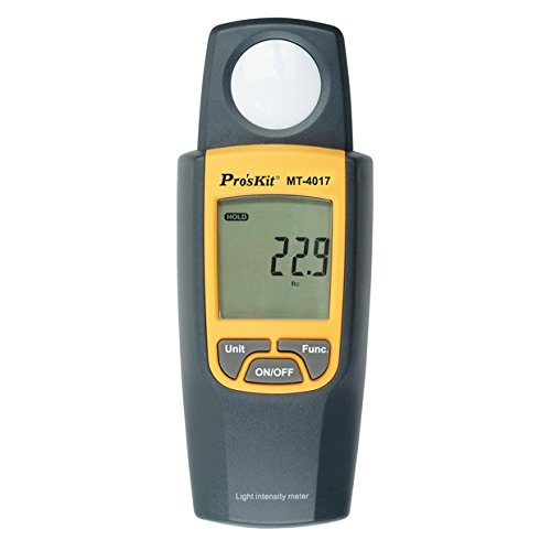 Review Of Pro'sKit MT-4017 Light Intensity Meter
