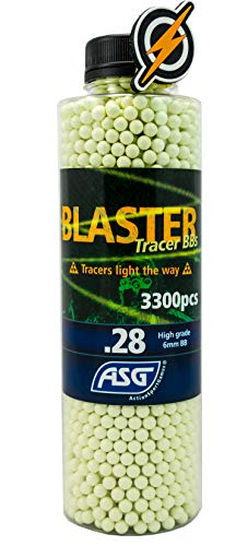 First and Only Airsoft Blaster .28 tracer bbs and patch 3300...