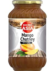 Bonasia Mango Chutney, Dulce 340 g - Pack de 6