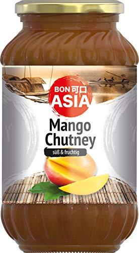 BONASIA Mango Chutney, süß, 6er Pack (6 x 340 g)
