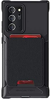 Ghostek Exec Note 20 Ultra Wallet Case with Credit Card Holder and Magnetic for Cars Magnet Mounts Detachable Leather Pocket Protective Phone Cover for 2020 Galaxy Note20 Ultra 5G  6.9 Inch  -  Black