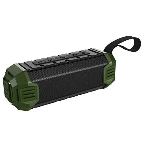 HIOD Y280 Al Aire Libre Bocina Bluetooth Impermeable Altavoz Bluetooth Inalámbrico Radio FM Incorporada, Carga del Teléfono