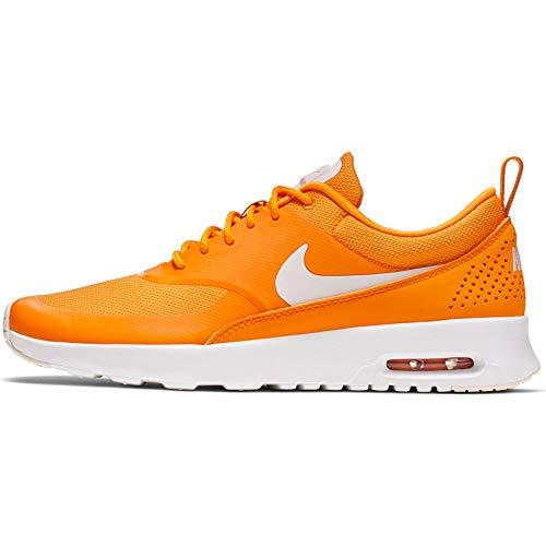 Nike Wmns Air MAX THEA, Zapatillas de Atletismo Mujer, Multicolor (Orange Peel/Pale Ivory/Summit White 806), 38 EU