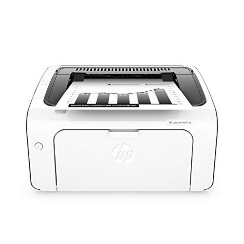 HP LaserJet Pro M12a Laserdrucker (schwarzweiß Drucker, USB) weiß