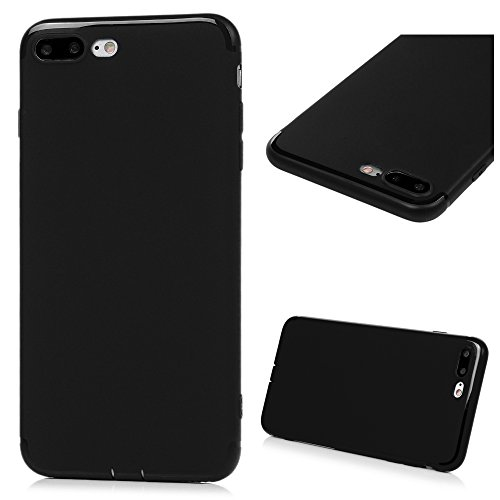 Kasos custodia iPhone 7Plus (14cm), unico iPhone 7Plus shock-absorption Thin Flexible Solid color Bright Side morbido TPU case [protezione goccia] [antigraffio] custodia per iPhone 7Plus