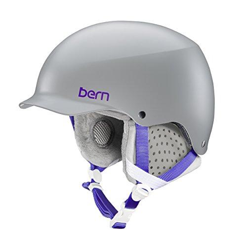Bern Damen Muse Helm, Satin Grey, M