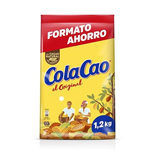 ColaCao Original: con cacao natural y sin aditivos - Formato ahorro refill en envase de 1200 gramos
