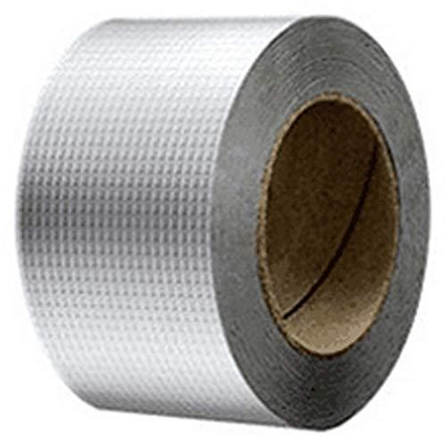 LXESWM aluminiumfolie butylrubberband zelfklevend waterdicht voor het dak lekdicht, oppervlakscheuren, vensterbank gap, buis roupture, bootverzegeling enz.