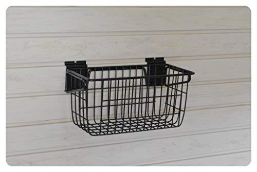 GaragePro 12' x 6' Narrow Ventilated Steel Basket for Slatwall Panels